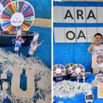 Programa do Silvio Santos é tema de aniversário de menino de 4 anos