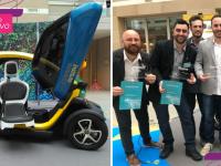 Estudantes brasileiros criam carro elétrico para cadeirantes e ganham prêmio internacional 11