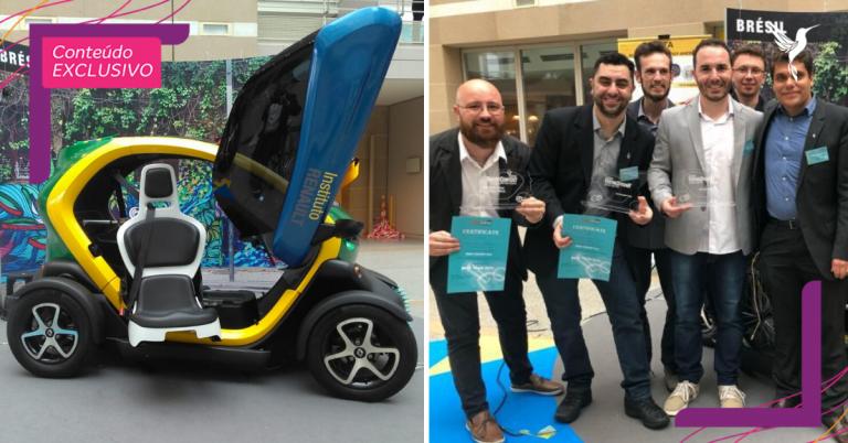 Estudantes brasileiros criam carro elétrico para cadeirantes e ganham prêmio internacional 1