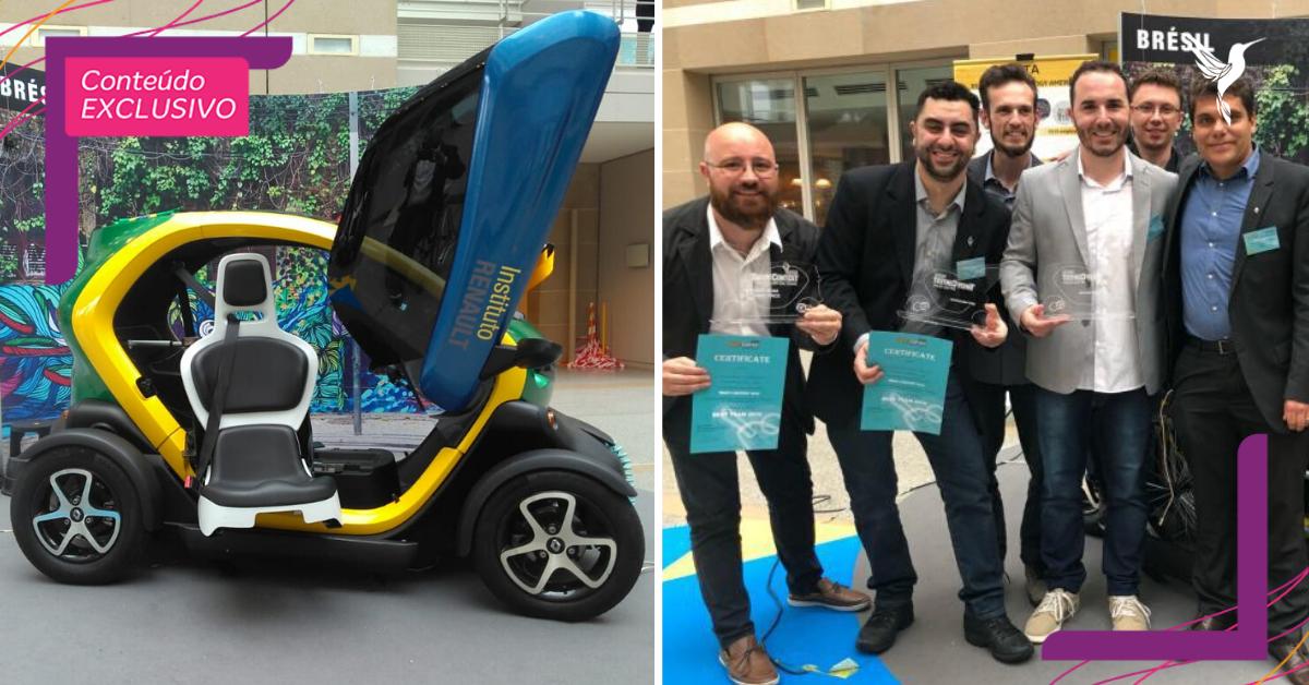 Estudantes brasileiros criam carro elétrico para cadeirantes e ganham prêmio internacional 2