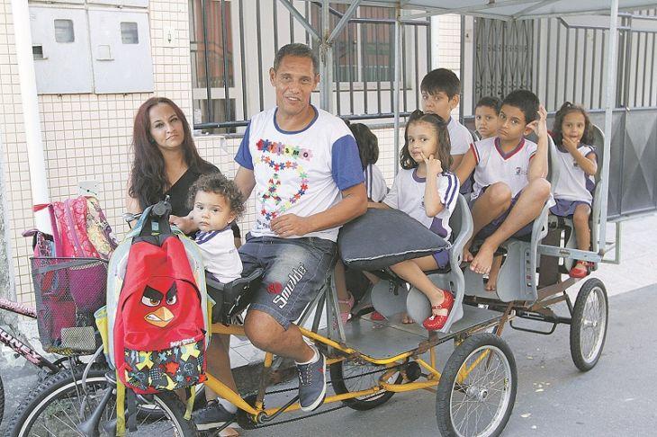 Casal sete filhos autistas Vitória