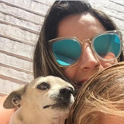 Cachorrinha que salvou dona da depressão