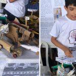 Garoto autista vence mostra científica e sonha em construir fábrica de brinquedos 2
