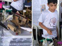 Garoto autista vence mostra científica e sonha em construir fábrica de brinquedos 4
