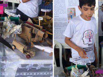 Garoto autista vence mostra científica e sonha em construir fábrica de brinquedos 5