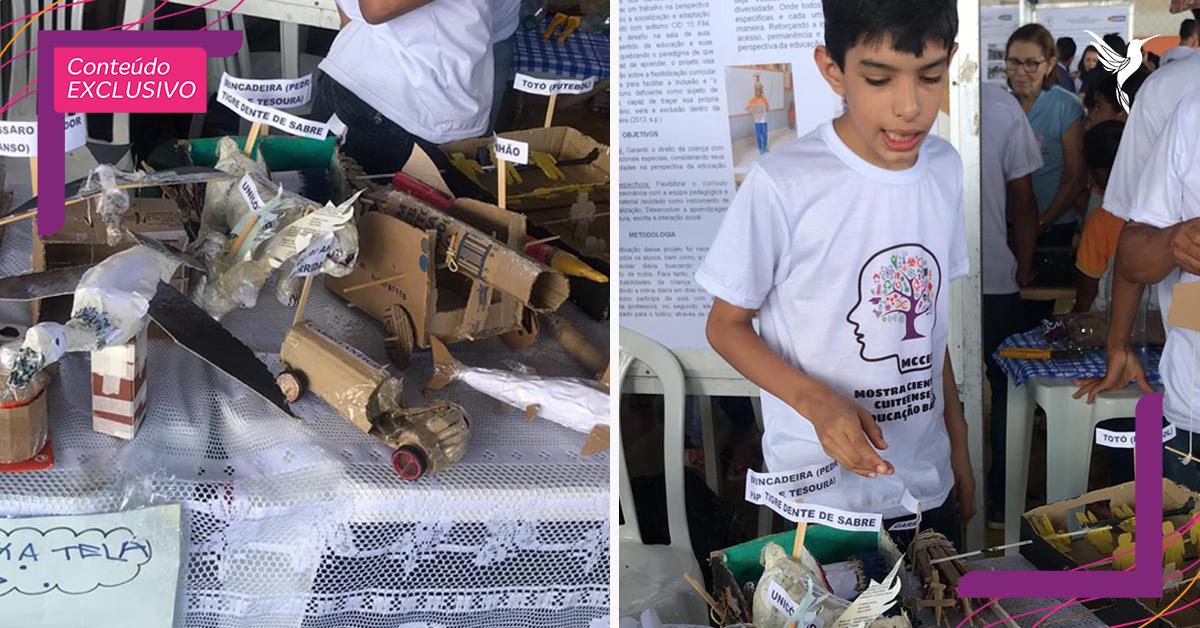 Garoto autista vence mostra científica e sonha em construir fábrica de brinquedos 1