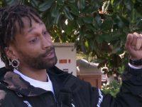 Homem salva família presa em prédio sob chamas