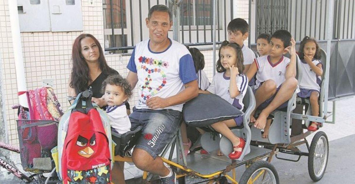 Casal capixaba larga emprego para cuidar dos 7 filhos autistas em tempo integral 1