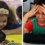 Escola convida pais a gravarem depoimentos para os filhos; veja a reação deles 2