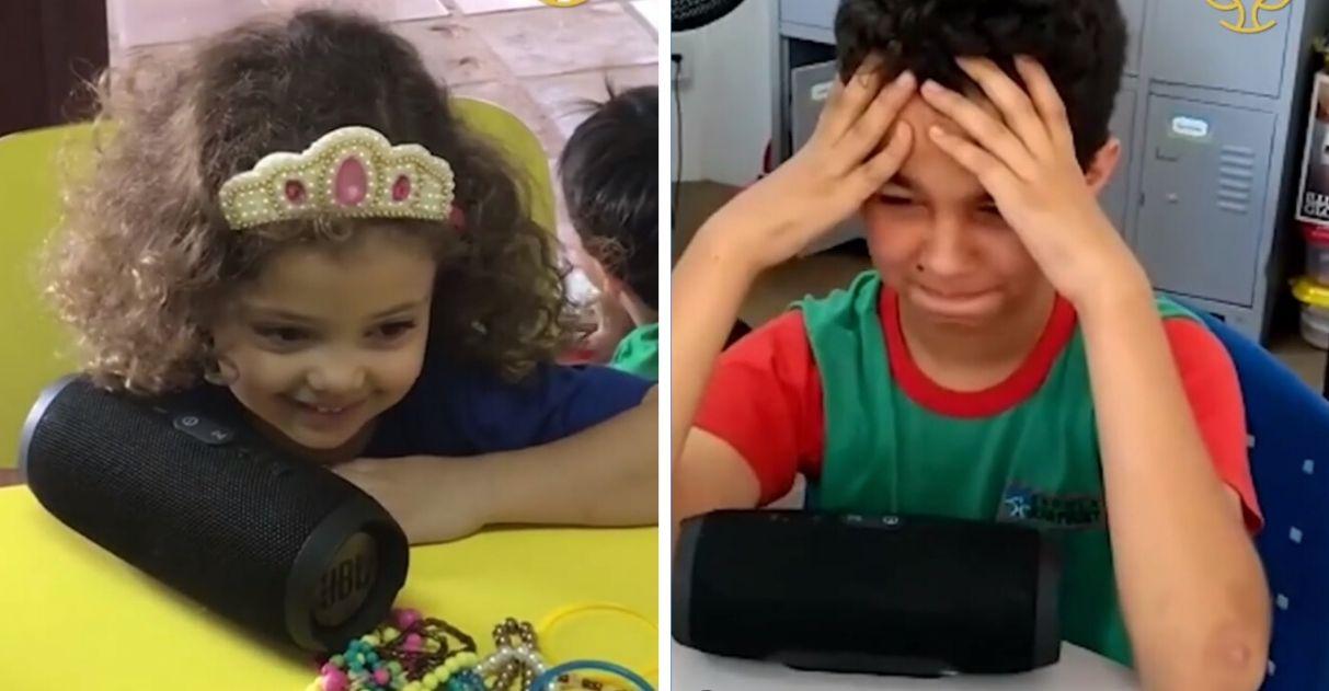 Escola convida pais a gravarem depoimentos para os filhos; veja a reação deles 1
