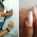 Pai vira modelo de filha manicure