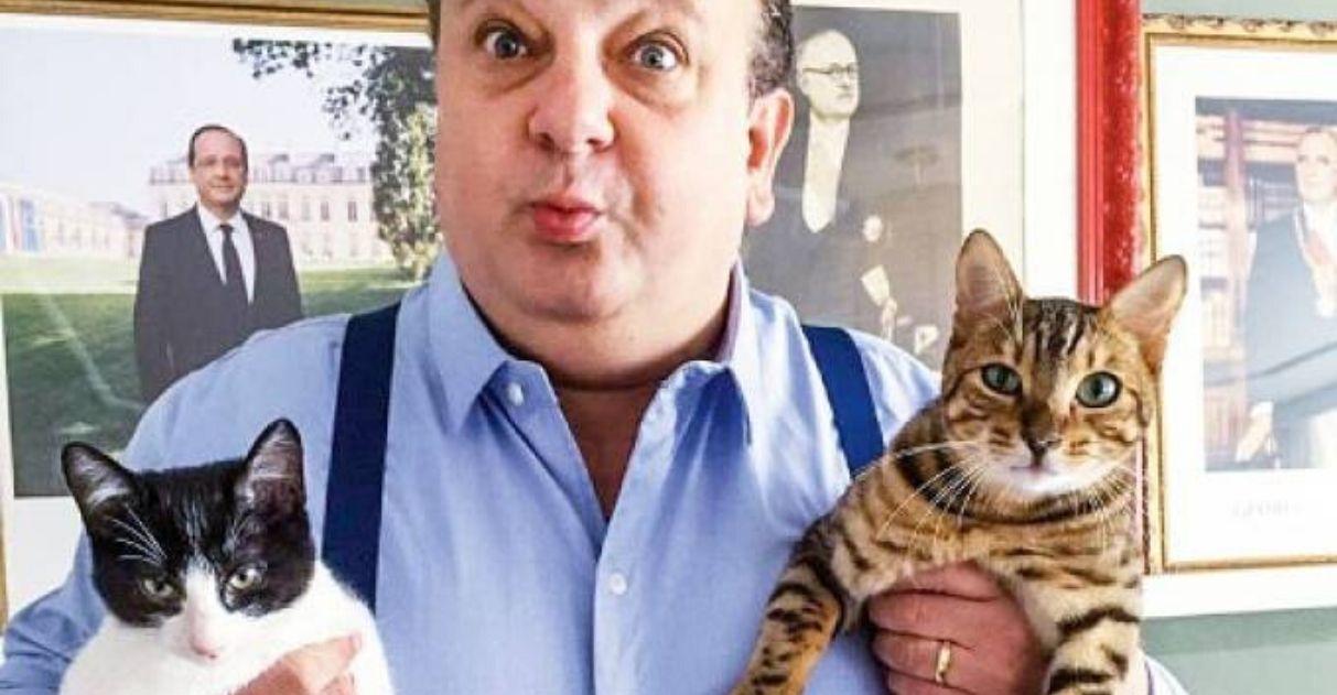 Chef Erick Jacquin adota gato tompero