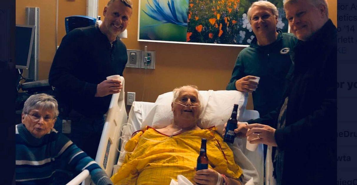 idoso cerveja último desejo família