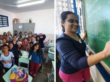 Professora de Matemática reduz notas vermelhas com projeto de empreendedorismo 17