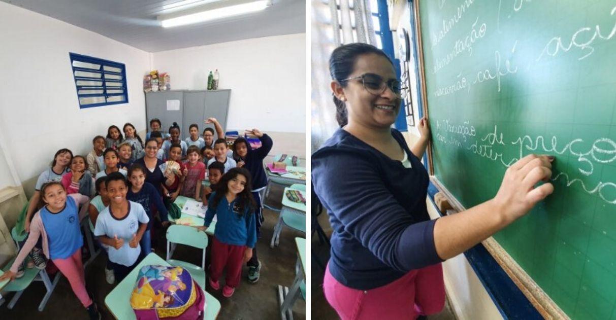 Professora de Matemática reduz notas vermelhas com projeto de empreendedorismo 2