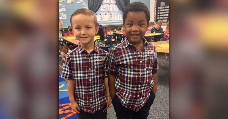 Amigos vestem o mesmo look para mostrar que são iguais 1