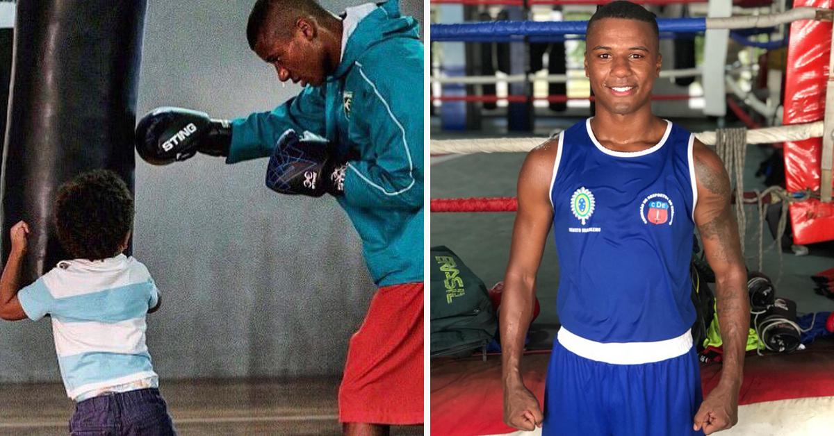 De gandula a campeão brasileiro: como o boxe mudou a vida de Patrick Lourenço 1