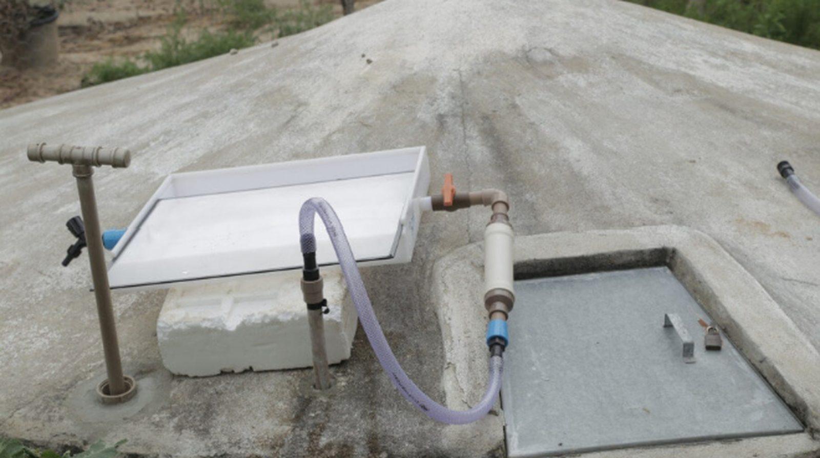 Brasileira dispositivo transforma água da chuva em potável