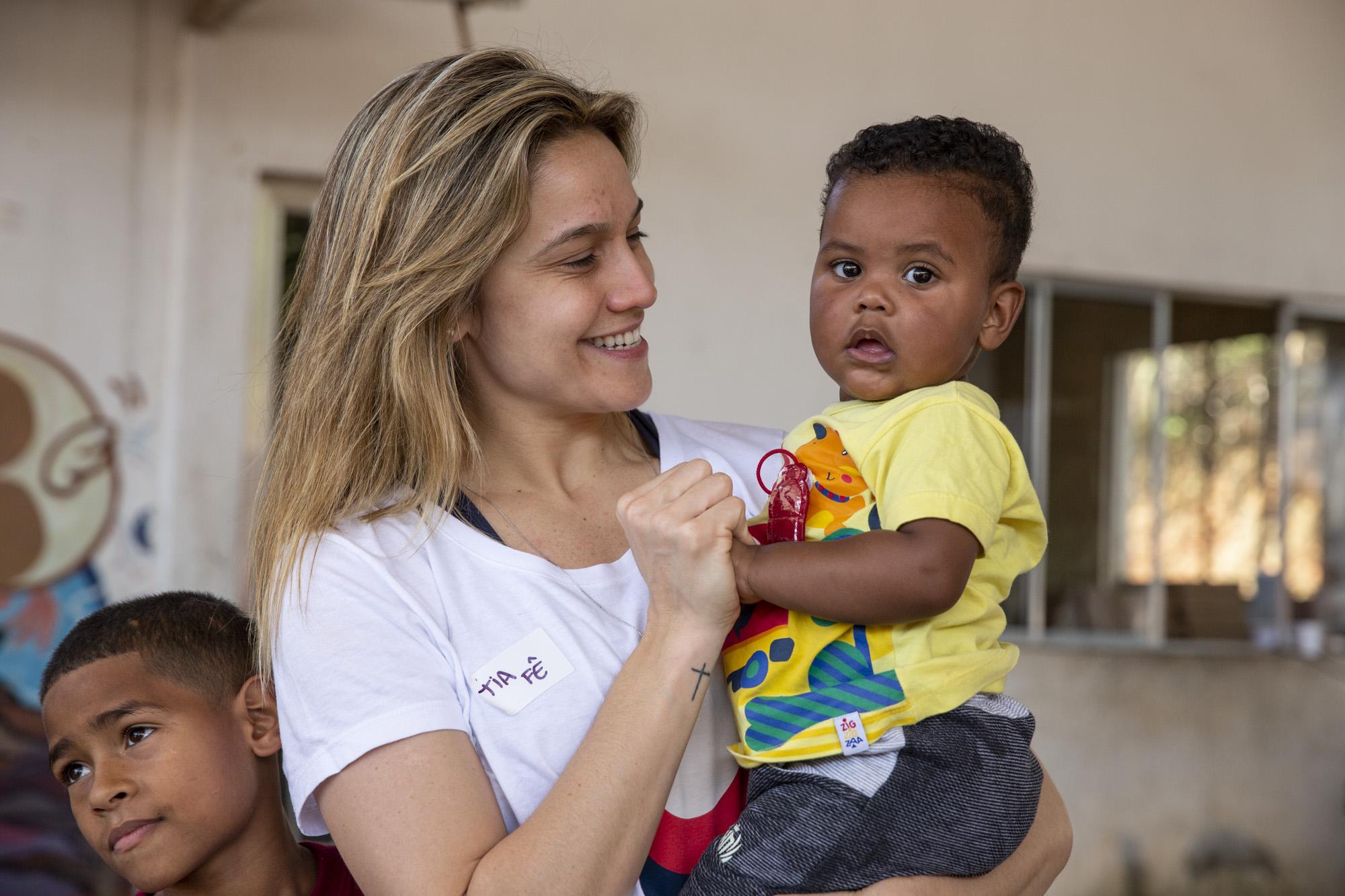 Causa da Educação, representada por Fernanda Gentil,é a grande vencedora da promoçãoGanhou, Causouda Nestlé 10