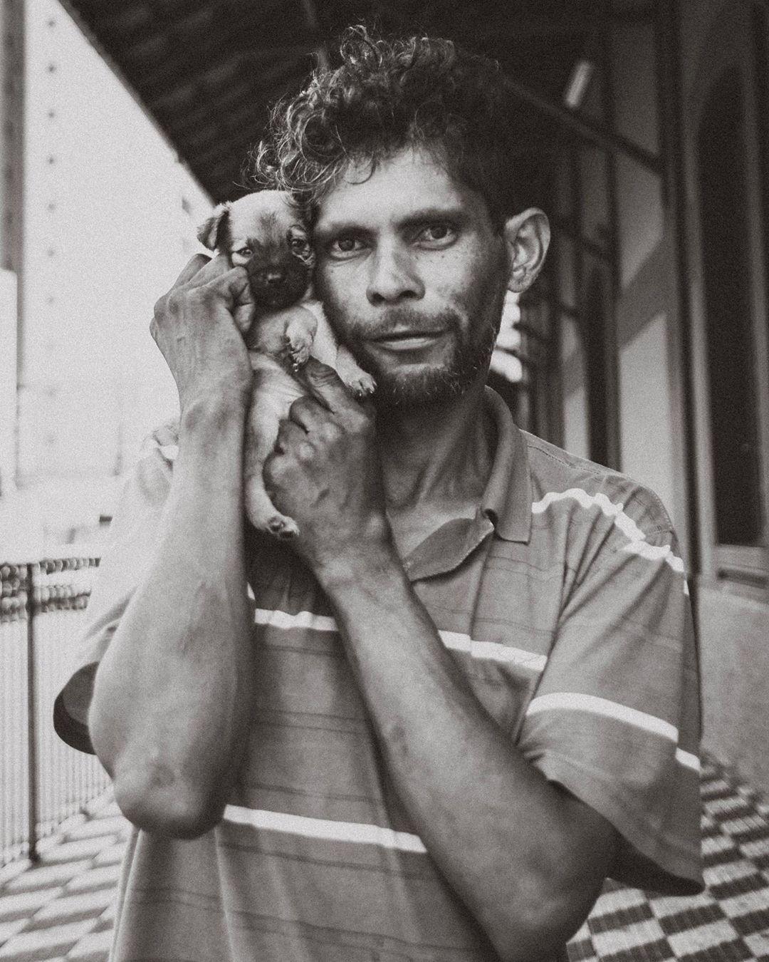 fotógrafa morador de rua fotos cachorrinho