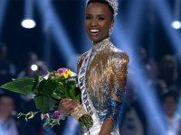 Sul-africana vence Miss Universo 2019 e manda recado para meninas negras 7