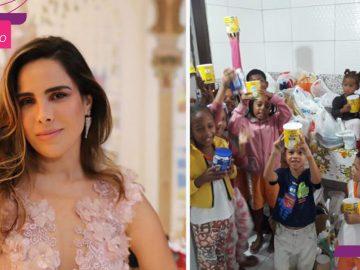 Wanessa Camargo abre mão de cachê em evento para ajudar crianças e idosos na Bahia 6
