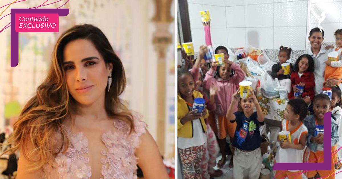 Wanessa Camargo abre mão de cachê em evento para ajudar crianças e idosos na Bahia 1