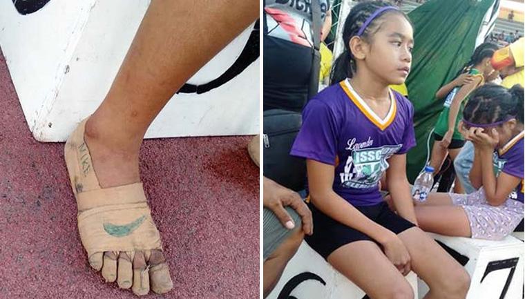 Menina que conquistou 3 ouros correndo descalça ganha ajuda da Nike 2