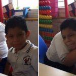 Em vídeo viral, menino com síndrome de Down conforta coleguinha autista; assista! 1
