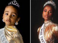 """""""Antes queria ser a Rapunzel, agora quer ser a Miss Universo"""", diz mãe 4"""