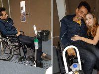 Pai com câncer raro deixa hospital para ver apresentação do TCC da filha 3