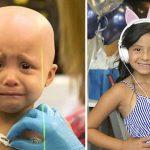 Menina de 6 anos vence câncer raro e mãe emociona ao mostrar como ela está hoje 3