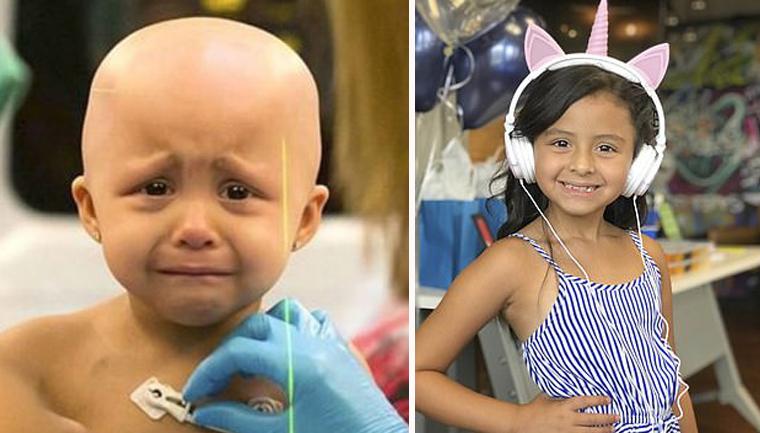 Menina de 6 anos vence câncer raro e mãe emociona ao mostrar como ela está hoje 4