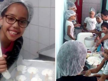 Confeiteira lança campanha para retomar projeto de culinária infantil em comunidade de São Paulo