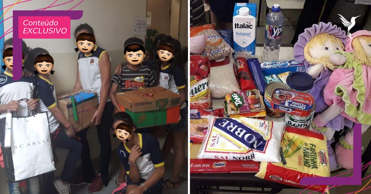Crianças criam 'comitê do bem' para ajudar coleguinha que passa por dificuldades