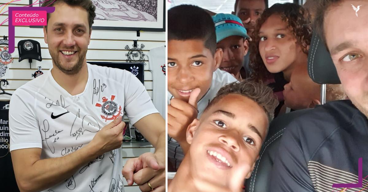 Corintiano sorteia camisetas autografadas para apadrinhar 300 crianças no Natal 7