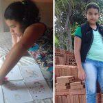 Menina escreve livros para reformar a casa da família