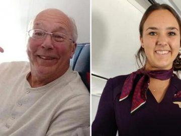 Pai viaja com filha aeromoça todo Natal