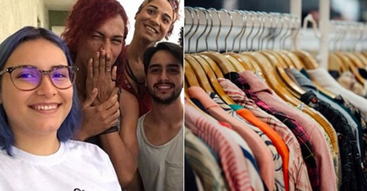 doação de roupas para pessoas trans
