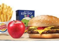 Burger King retira embalagens papelão combo King Jr