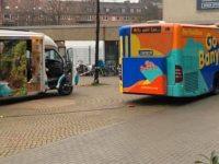 ônibus-chuveiro para moradores de rua
