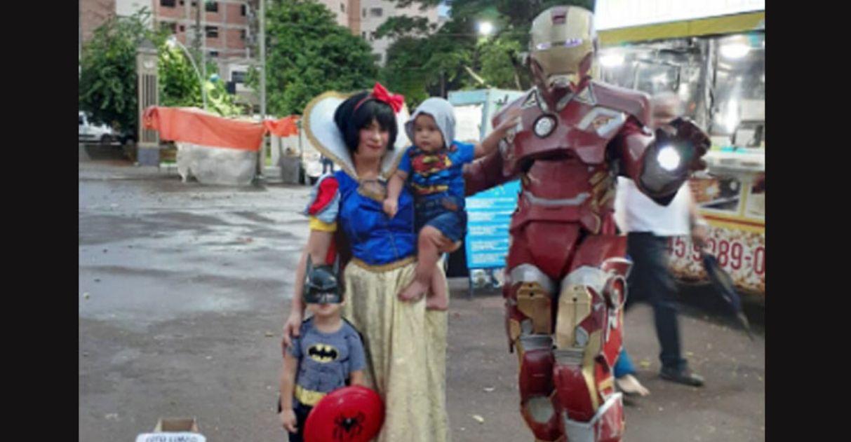 homem de ferro brasileiro apoio após ser humilhado
