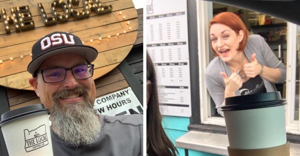 Dona de café assume negócio de concorrente após saber que ele tem câncer terminal 1