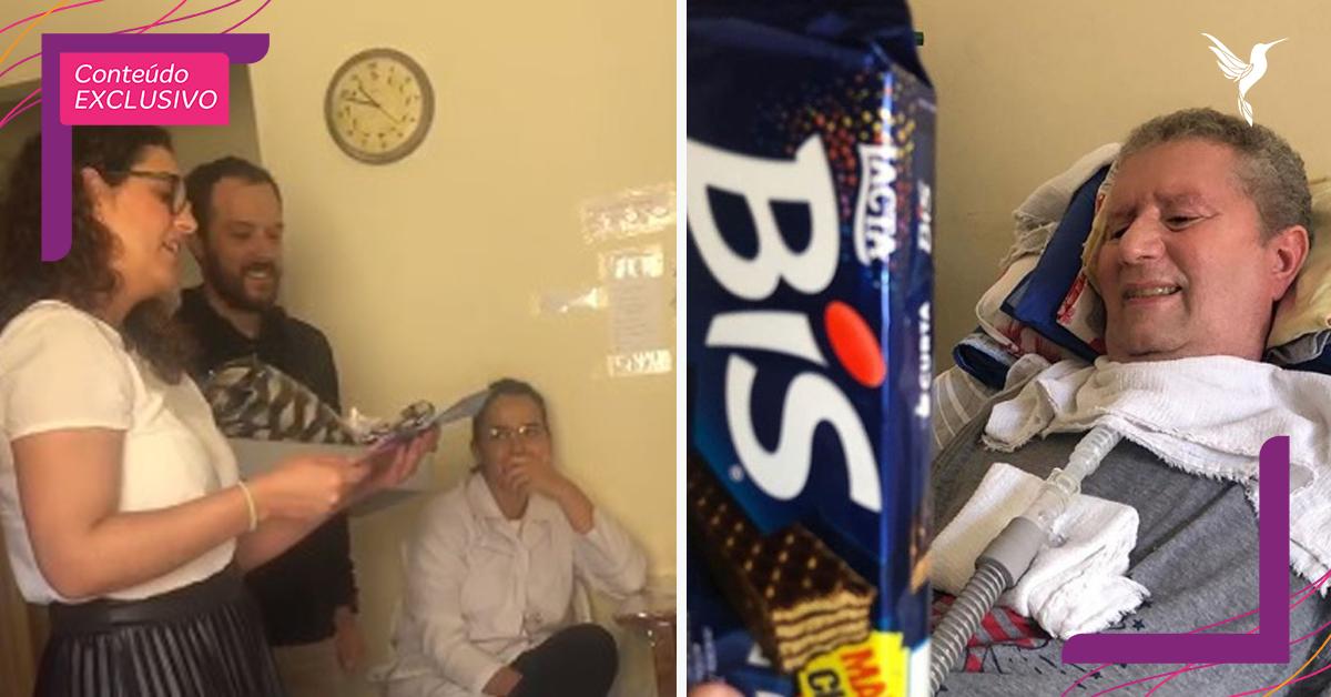 Paciente que dá chocolates a visitas ganha um ano de caixas da BIS [VÍDEO] 2