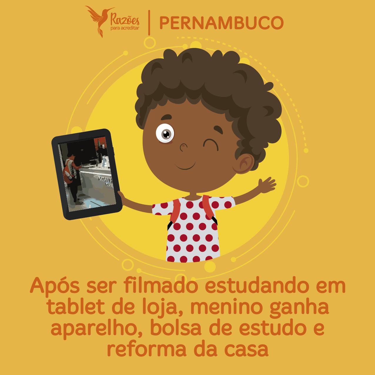 boas notícias ilustrações razões para acreditar - Pernambuco