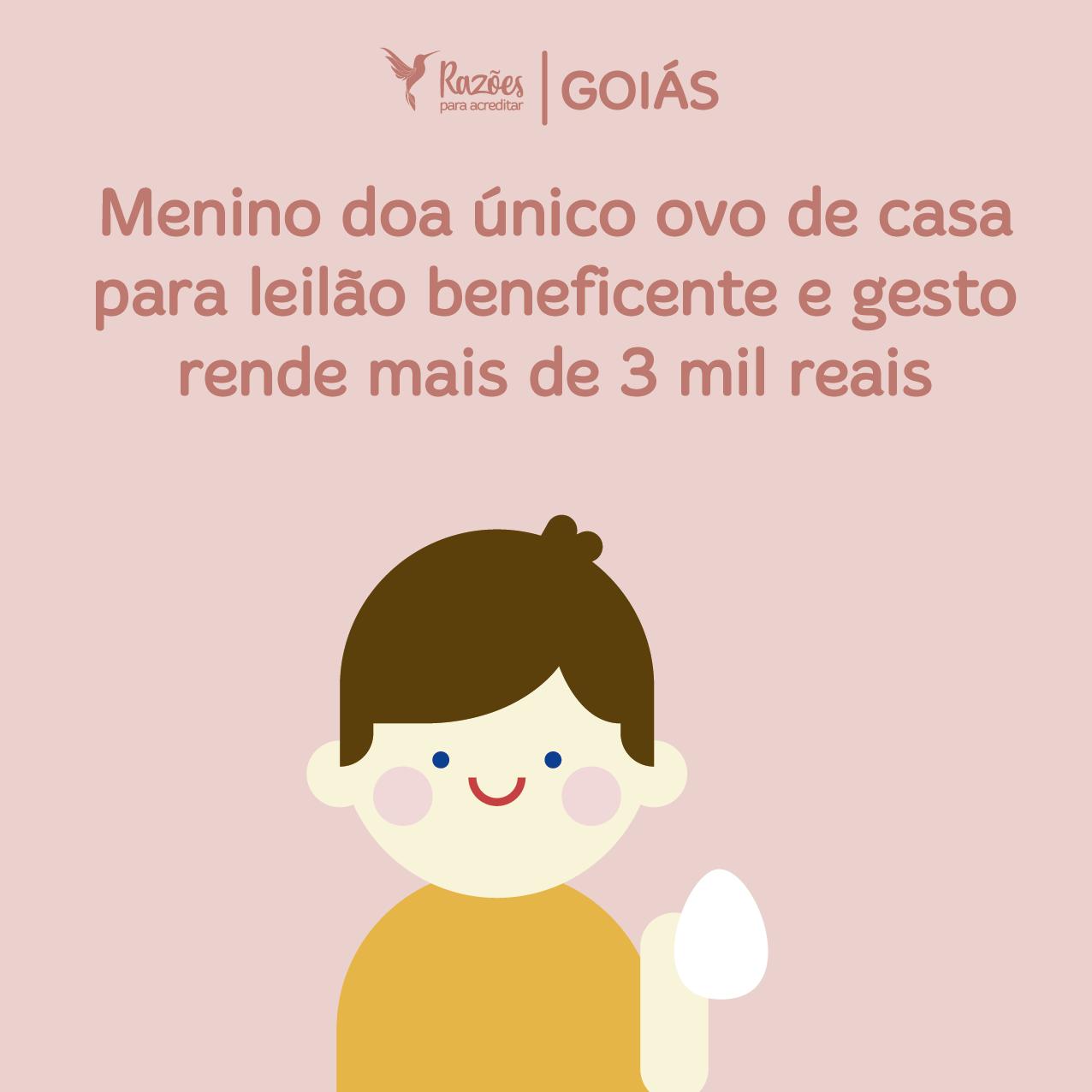 boas notícias ilustrações razões para acreditar Goiás