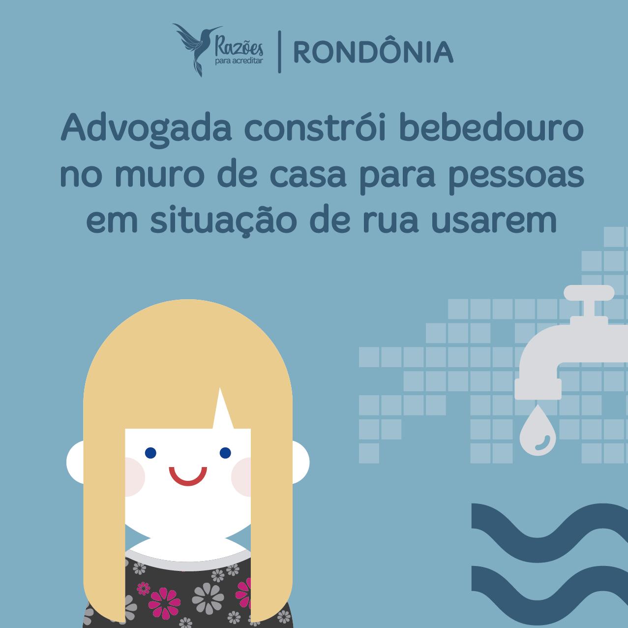 boas notícias ilustrações razões para acreditar Rondônia