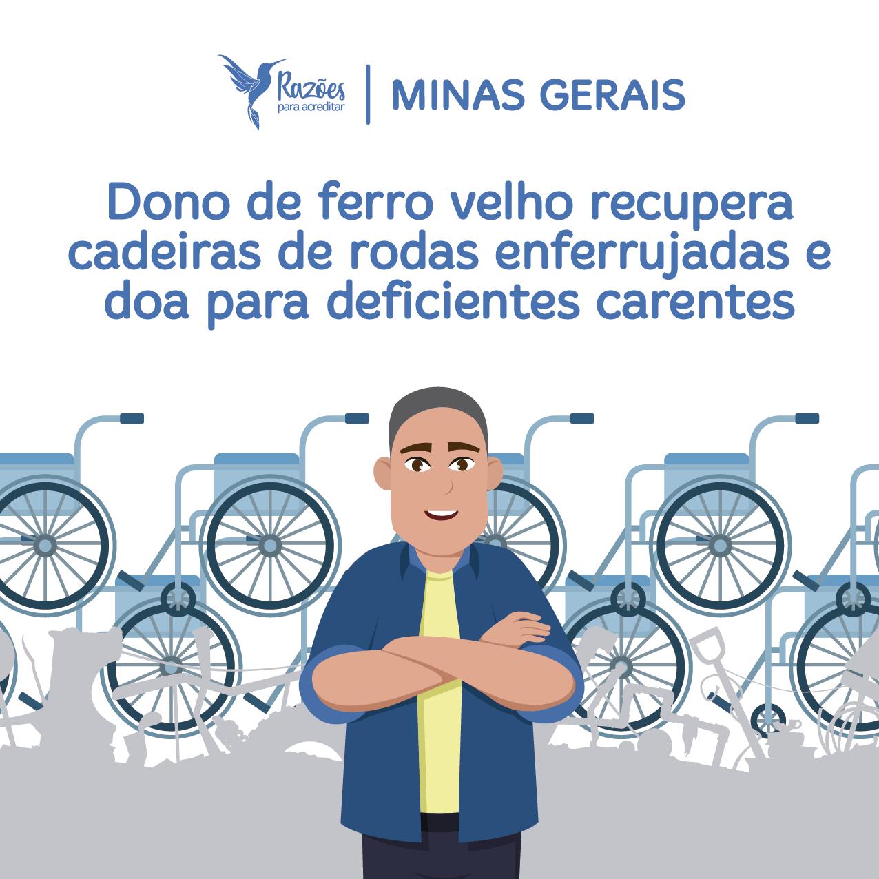 boas notícias ilustrações razões para acreditar Minas Gerais