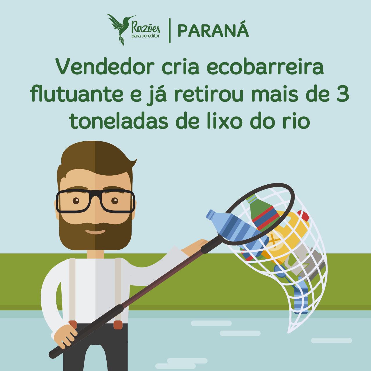 boas notícias ilustrações razões para acreditar - Paraná