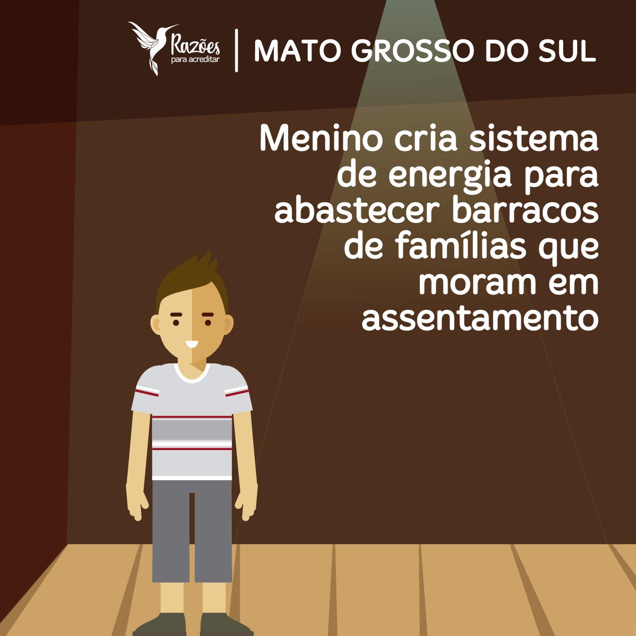boas notícias ilustrações razões para acreditar Mato Grosso do Sul